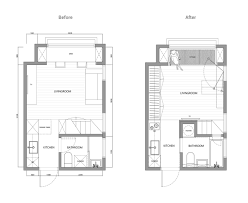 2 super tiny home designs under 30 square meters includes floor