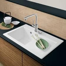 Villeroy  Boch Kitchen Sinks Villeroy  Boch Tap Warehouse - Ceramic white kitchen sink