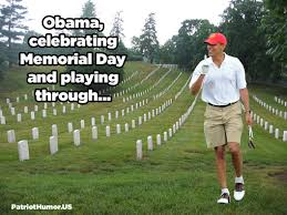 Image result for obama golf cart in ditch pics