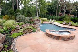 Landscaping Ideas By NJ Custom Pool  Backyard Design Expert - Backyard river design