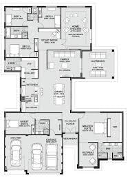 pretty 5 bedroom floor plans 55 house idea with 5 bedroom floor