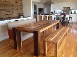 Rustic Modern Dining Room Tables by Rustic Reclaimed Wood Dining Table Home And Furniture