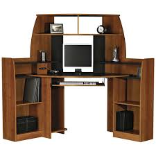 Bedroom Set Plans Woodworking Corner Computer Desk With Double Storage Furniture Pinterest