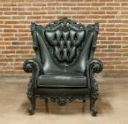 Sofa Sleeper In Dark Brown Faux Leather 49500 Furniture ...