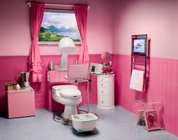 how to design a teenage girls bathroom with full beautify and