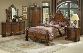 King Bedroom Set Armoire Poster Bedroom Sets Also With A Queen Size Bed Also With A King