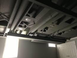 Black Ceiling Basement by Best 10 Painted Ceiling Beams Ideas On Pinterest Painted Beams