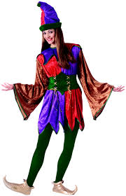 Clowns Halloween Costumes Funny Jester Halloween Costume Joking Court Jester