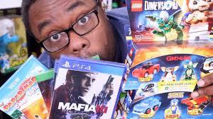 ps4 games black friday black friday video games haul 2016 nintendo ps4 xbox youtube