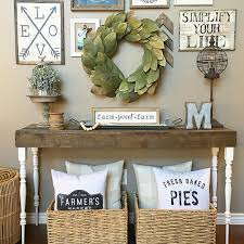 Farm Style Living Room by Living Room Console Table Farmhouse Style See This Instagram