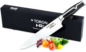 amazon com chef knife 8 inch knife vg10 stainless steel blade