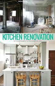 Whole Kitchen Cabinets Remodelaholic Whitney U0027s Beautiful Diy Kitchen With Ikea Cabinets