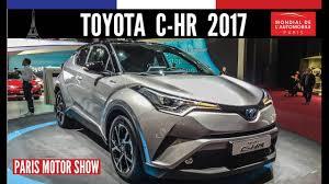 toyota motor car toyota c hr 2017 paris motor show 2016 car motor youtube
