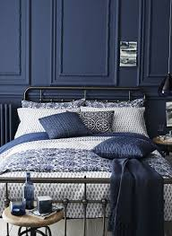Dark Blue And Black Bedroom Totally Into This Dark Blue Bedroom - Blue bedroom designs