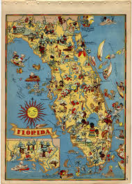 Avon Park Florida Map by Vintage Florida Map Obsessed With Maps Pinterest Florida
