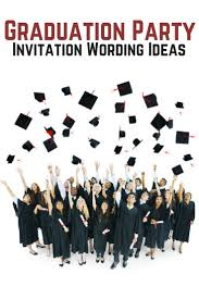 best 25 graduation invitation wording ideas on pinterest 1st