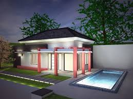 3d modern small house cgtrader