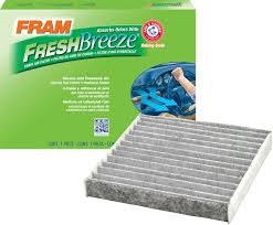 amazon com fram cf10285 fresh breeze cabin air filter with arm