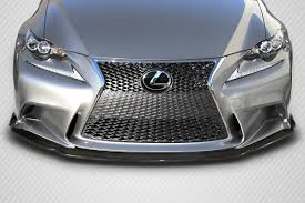 lexus is 250 for sale in cambodia 14 15 lexus is am design dritech carbon fiber front bumper lip