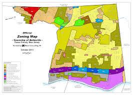 Map Nj Belleville Zoning Map U2013 The Township Of Belleville Nj