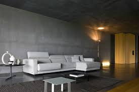 Modern Concrete Home Plans And Designs Beautiful Natural Interior Design Of The Building Concrete Wall