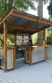 Building Outdoor Wood Furniture by Best 25 Diy Outdoor Bar Ideas On Pinterest Deck Decorating