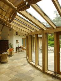Modern Conservatory A Large Oak Frame House Bespoke Timber Framed Houses