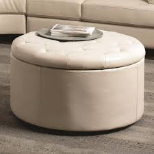 round tufted storage ottoman coffee table starrkingschool storage ottoman coffee table uk gallery of amazing tufted