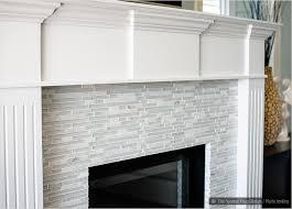 kitchen backsplash trim ideas marble fireplace tiles white trim elegant white marble u0026 glass
