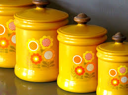accessories glamorous set modern retro ceramic canisters kitchen
