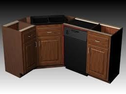 Kitchen Base Corner Cabinet Dimensions Monsterlune - Corner kitchen base cabinet