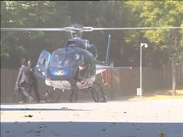 Un helicóptero lleva a Artur Más al Parlamento de Cataluña
