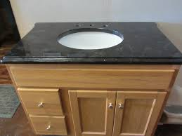 White Bathroom Vanity With Granite Top by Black Granite Bathroom Vanity