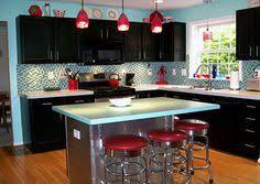 Retro Metal Kitchen Cabinets by Lange Rechte American Kitchen Werkblad Zonder Deling The