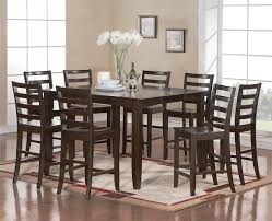 briliant details about 9 pc square counter height dining room
