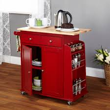 Kitchen Island With Chopping Block Top Kitchen Island Red Kitchen Island Cart Butcher Block Top