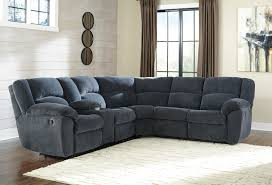 Ashley Furniture Loveseat Recliner Reclining Fabric Sectionals