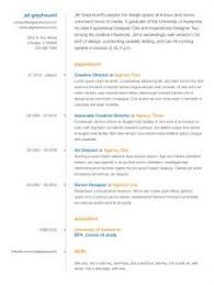 Examples Of Creative Resumes by Examples Of Resumes 93 Excellent Resume Layout Samples Format