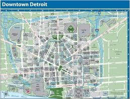 Colorado State University Map by Detroit Downtown Map
