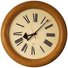 vintage arthur umanoff howard miller clock at 1stdibs