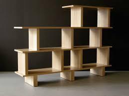 Modern Contemporary Bookshelves by Furniture Smart Wooden Bookshelf Design For Your Bedroom