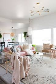 Wam Home Decor by Aspyn U0027s Living Room Makeover Reveal Pink Couch Living Rooms And