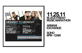 armani exchange black friday black friday armani exchange music marathon