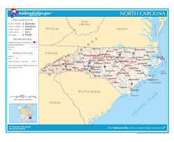 Charlotte Usa Map by Maps Of North Carolina State Collection Of Detailed Maps Of