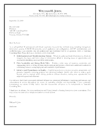 Resume Cover Letter Examples Sample Cover Letter For Project Manager Job Images Cover Letter