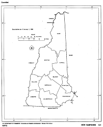 Map Of The New England States by New Hampshire Maps From Netstate Com
