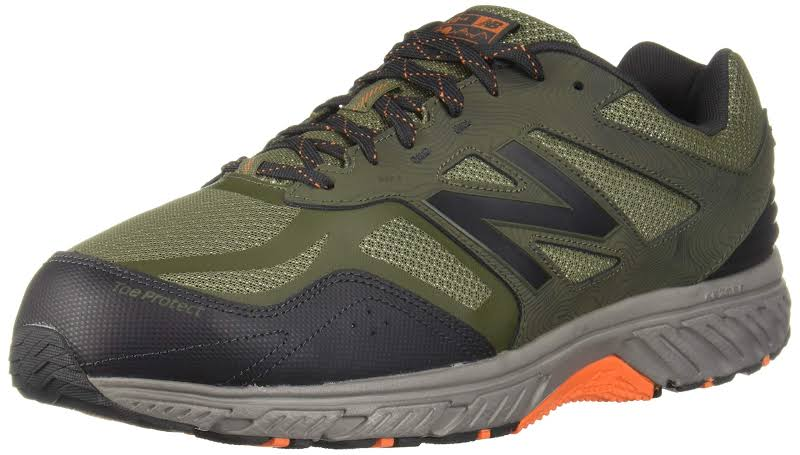New Balance 510v4 Low Top Lace Up Running Sneaker, Green,