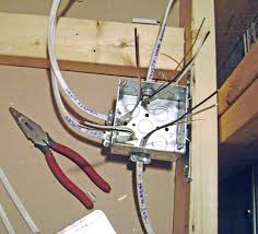 Ceiling Electrical Box by How To Finish A Basement Bathroom Ceiling Junction Box Wiring
