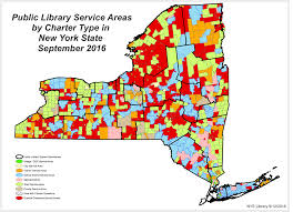 New York County Map by Public Library Service Area Maps Library Development New York