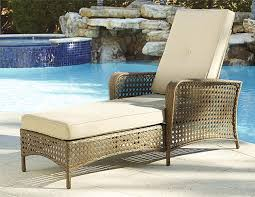 Wicker Patio Amazon Com Cosco Outdoor Adjustable Chaise Lounge Chair Lakewood